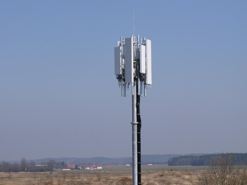 Mobilfunkprojekt Reiter-Antennenbau DFMG & Dt. Telekom